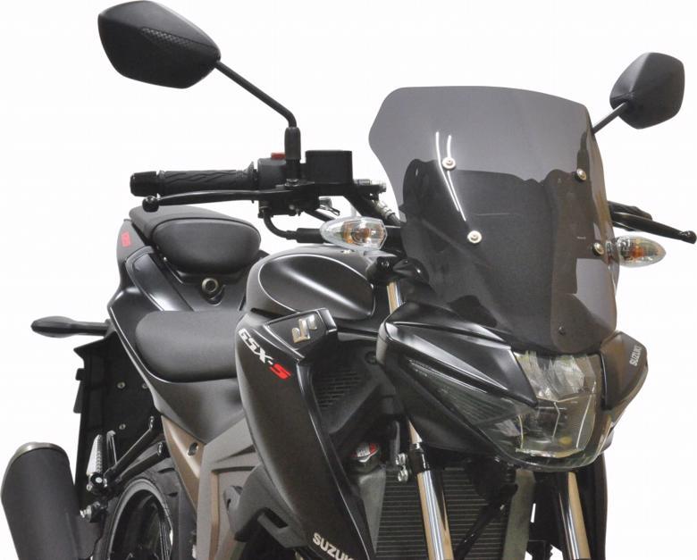 スーパーセール バイク用品 外装 スクリーン旭風防 エ-エフアサヒ アサヒフウボウ メーターバイザー スモーク GSX-S125ABS 2BJ-DL32BAF-ASAHI GSX-S1 取寄品