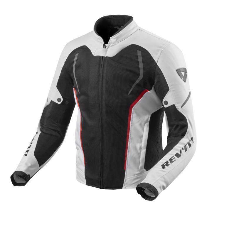 スーパーセール バイク用品 ウェア ジャケットレブイット GT-R エア 2 ジャケット ホワイト ブラック LREVIT FJT242-3050-L 取寄品