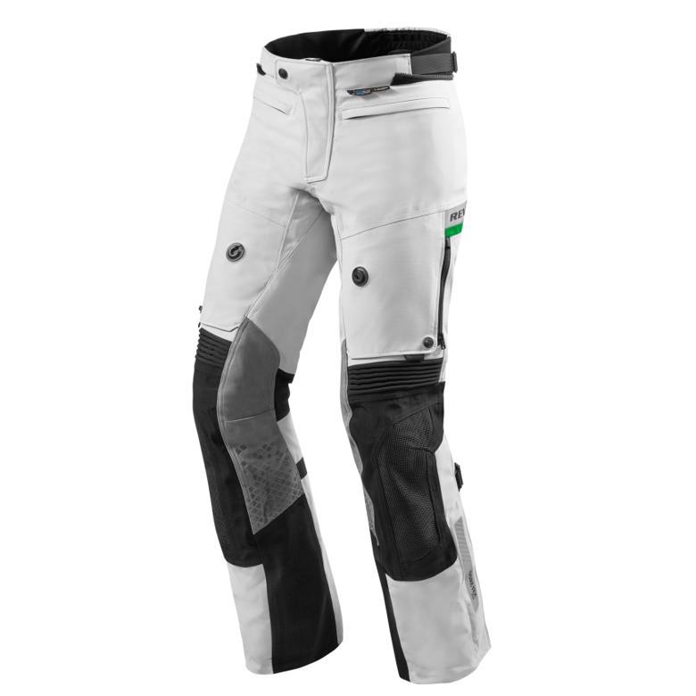 バイク用品 ウェア パンツ&ベルトレブイット ドミネーター2 GTX パンツ ライトグレー グリーン L SHORTREVIT FPT078-3682-L 取寄品