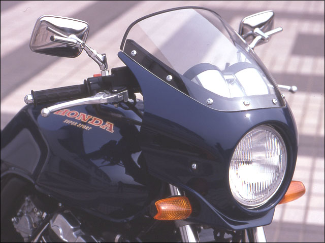 スーパーセール バイク用品 外装 カウルシックデザイン マスカロード チタンメタリック スモーク CB400SFCHIC DESIGN MQ02-TM/2 取寄品