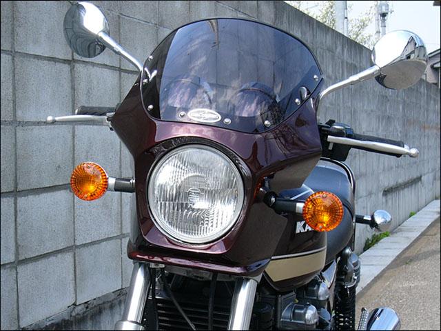 スーパーセール バイク用品 外装 カウルシックデザイン マスカロード Lビンテージレッド クリア ZEPHYR750CHIC DESIGN MQ05-LVRD 取寄品