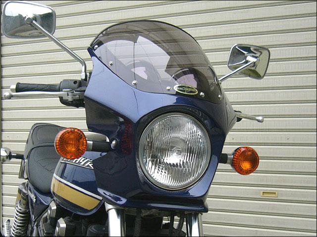 スーパーセール バイク用品 外装 カウルシックデザイン マスカロード パールロイヤルブルー スモーク ZEPHYR400 χCHIC DESIGN MQ06-PRBL/2 取寄品