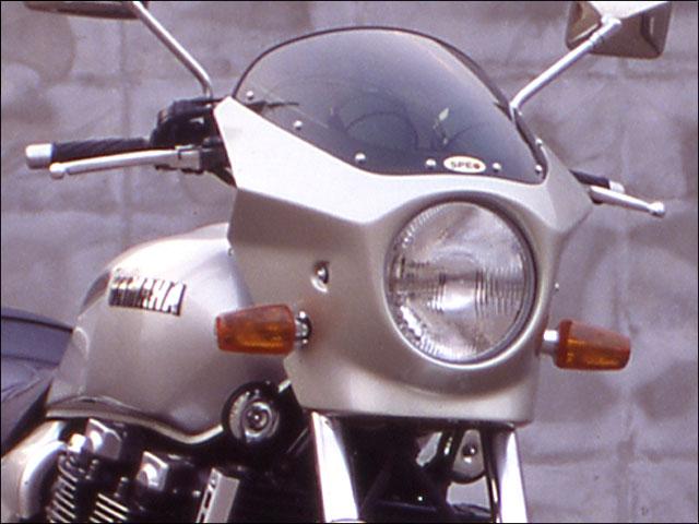 スーパーセール バイク用品 外装 カウルシックデザイン マスカロード BLホワイトカクテル1 スモーク XJR1200CHIC DESIGN MQ120-BLW1/2 取寄品