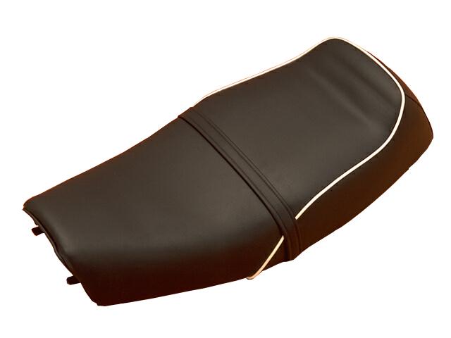 バイク用品 外装 シートシックデザイン ハンプドバックシート タンデムベルトナシ SR400 500 78-08CHIC DESIGN SR-ST2 取寄品
