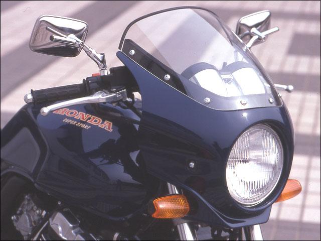 スーパーセール バイク用品 外装 カウルシックデザイン マスカロード BLK GM ツートン クリア CB400SFCHIC DESIGN MQ02-BK/GM 取寄品
