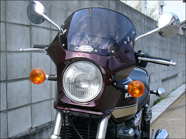 スーパーセール バイク用品 外装 カウルシックデザイン マスカロード ルミナスポラリスBLU クリア ZEPHYR750CHIC DESIGN MQ05-LPBL 取寄品