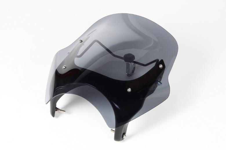 バイクパーツ モーターサイクル オートバイ セール バイク用品 外装 スクリーンシックデザイン GUYRAシールド スモーク #M VTR250 09-CHIC DESIGN GS34BM/2 取寄品