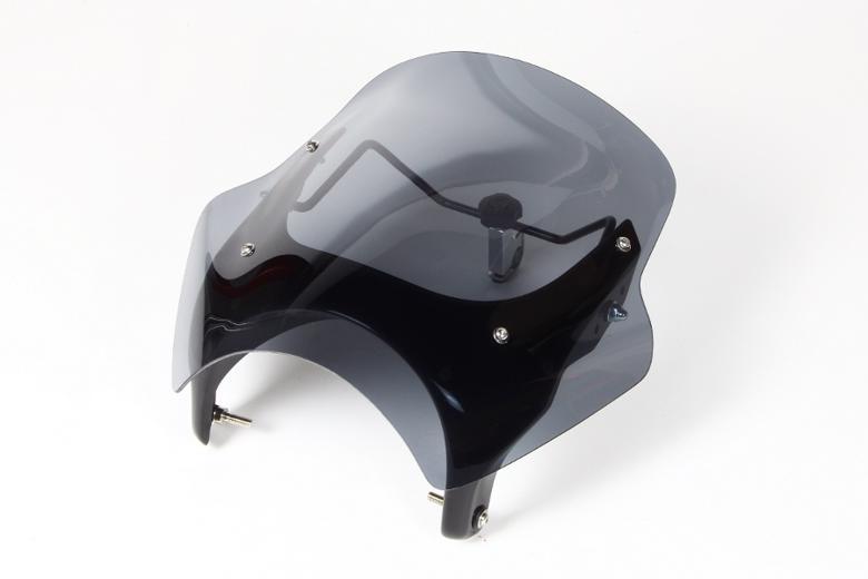 バイク用品 外装 スクリーンシックデザイン GUYRAシールド スモーク #S CB400SF VTEC SPEC2 02-03CHIC DESIGN GS37BS/2 取寄品