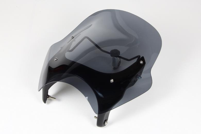 スーパーセール バイク用品 外装 スクリーンシックデザイン GUYRAシールド スモーク #L CB400SF REVO 08-13CHIC DESIGN GS45BL/2 取寄品