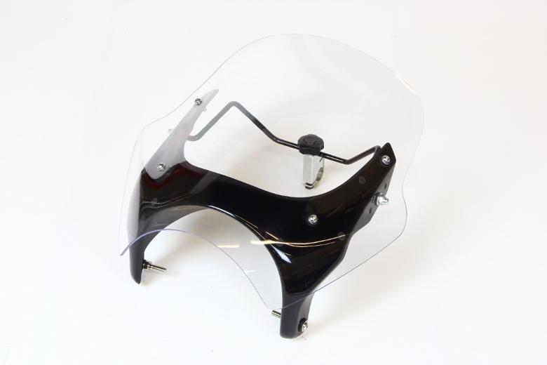 スーパーセール バイク用品 外装 スクリーンシックデザイン GUYRAシールド クリア #M GB250 83-97CHIC DESIGN GS09M 取寄品