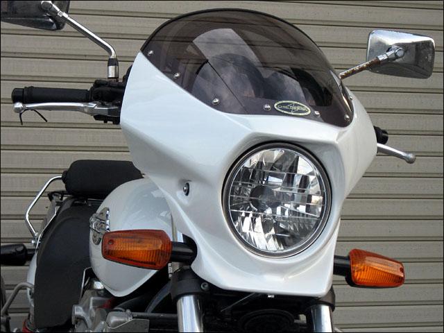 スーパーセール バイク用品 外装 カウルシックデザイン マスカロード Cモールトン・ブラウン スモーク X-4CHIC DESIGN MQ24-CMB/2 取寄品