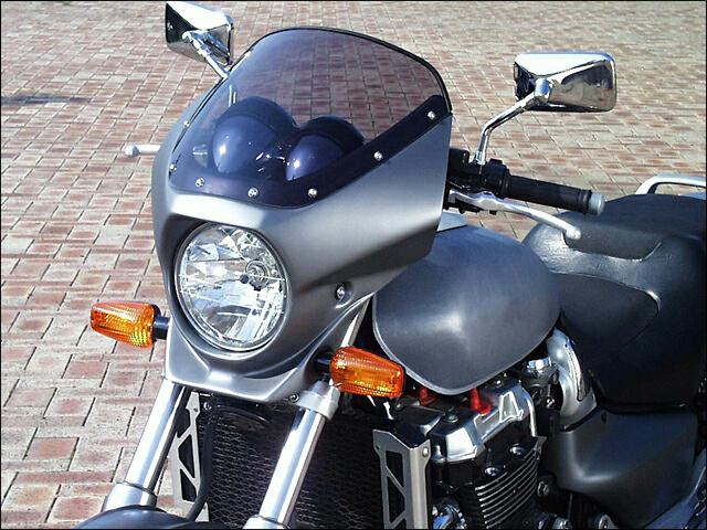 スーパーセール バイク用品 外装 カウルシックデザイン マスカロード マットビュッレットSV スモーク X-4CHIC DESIGN MQ24-MBSV/2 取寄品