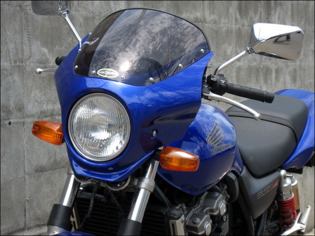 スーパーセール バイク用品 外装 カウルシックデザイン マスカロード Cタヒチアンブルー スモーク CB400SF 03CHIC DESIGN MQ37B-CTBL/2 取寄品