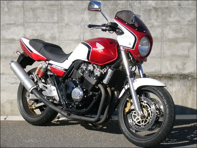 バイク用品 外装 カウルシックデザイン ロードコメット パールヘロンブルー スモーク CB400SF 03CHIC DESIGN RC37B-PHBL/2 取寄品 スーパーセール