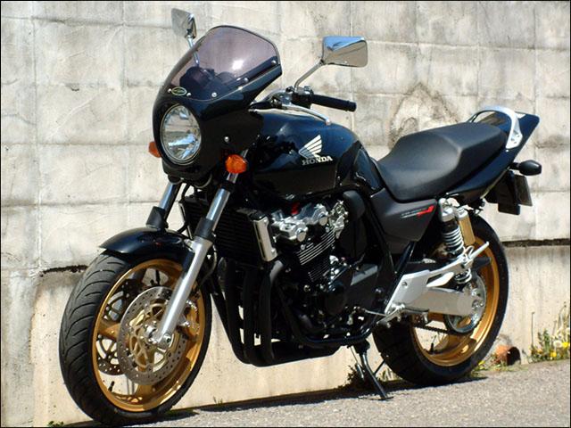 スーパーセール バイク用品 外装 カウルシックデザイン ロードコメット BK スモーク CB400SF 04-07CHIC DESIGN RC45-BK/2 取寄品
