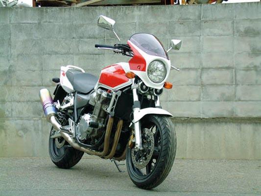 バイク用品 外装 カウルシックデザイン ロードコメット レッド ホワイト クリア CB1000SFCHIC DESIGN RC01-RD/W 取寄品 スーパーセール