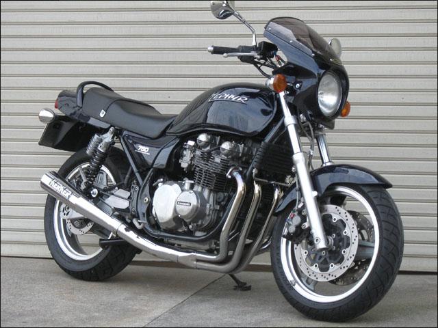 スーパーセール バイク用品 外装 カウルシックデザイン ロードコメット エボニー スモーク ZEPHYR750CHIC DESIGN RC05-EB/2 取寄品
