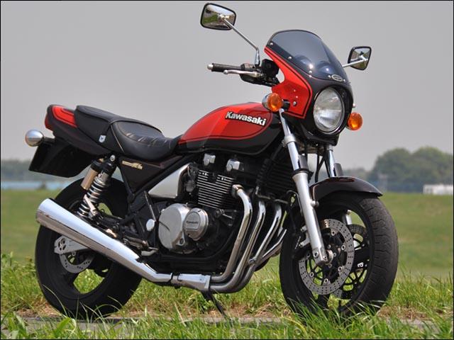 スーパーセール バイク用品 外装 カウルシックデザイン ロードコメット PパープリッシュBK クリア ZEPHYR400 750CHIC DESIGN RC06-PPBK 取寄品