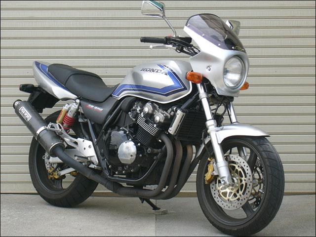 スーパーセール バイク用品 外装 カウルシックデザイン ロードコメット ブラック スモーク CB400SF VTECCHIC DESIGN RC37-BK/2 取寄品