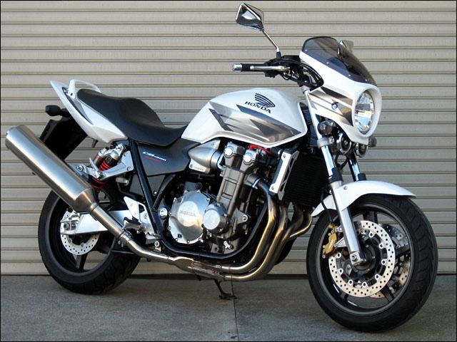 バイク用品 外装 カウルシックデザイン ロードコメット ホワイト レッド クリア CB1300SF 03-CHIC DESIGN RC44-RD/W 取寄品 スーパーセール
