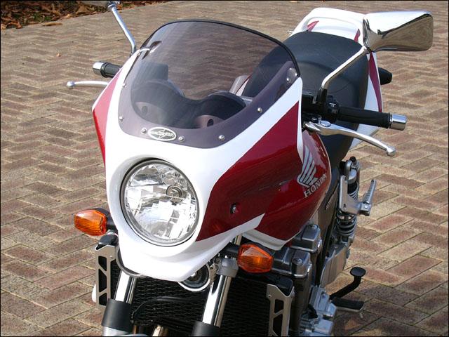 スーパーセール バイク用品 外装 カウルシックデザイン マスカロードWT CアルカディアRD スモーク CB1300SF 03-CHIC DESIGN MQ44-CARD/W/2 取寄品