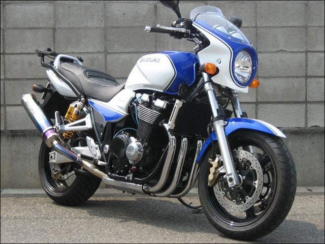 スーパーセール バイク用品 外装 カウルシックデザイン ロードコメット PSWHT PSDBL クリア GSX1400 02CHIC DESIGN RC42-BLW02 取寄品