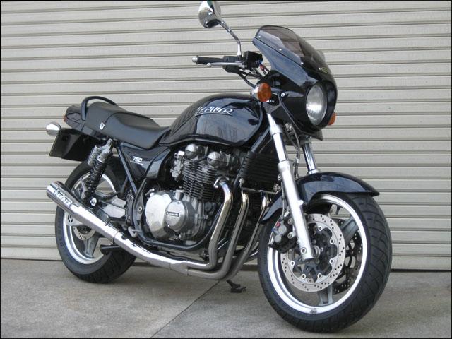 バイク用品 外装 カウルシックデザイン ロードコメット2 M.スパークBLK スモーク ZEPHYR750 RSCHIC DESIGN RCB05-MSBK/2 取寄品 スーパーセール