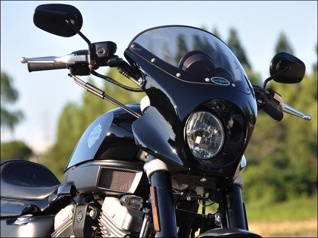 スーパーセール バイク用品 外装 カウルシックデザイン ストリームヘッドカウル BB.BLK クリア XR1200 XCHIC DESIGN HC59-BK 取寄品