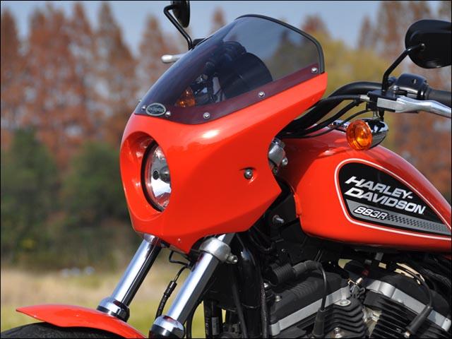 バイク用品 外装 カウルシックデザイン ティーラS.ヘッドカウル BB.BLK スモーク XL 04-CHIC DESIGN HC54-BK/2 取寄品 スーパーセール
