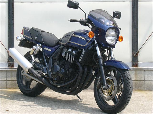 スーパーセール バイク用品 外装 カウルシックデザイン ロードコメット Cサンダーブルー クリア ZRX400-2CHIC DESIGN RC19-CBL 取寄品