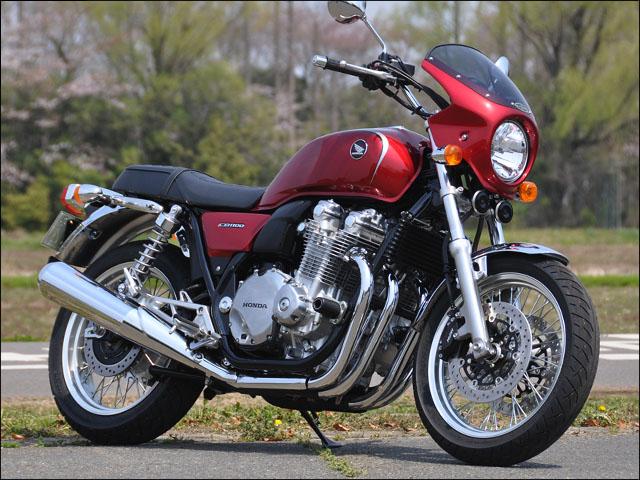 スーパーセール バイク用品 外装 カウルシックデザイン ロードコメット CアリザリンRED スモーク CB1100EX 14-CHIC DESIGN RC60B-AZRD/2 取寄品
