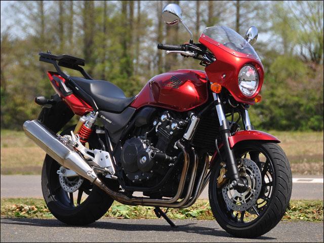スーパーセール バイク用品 外装 カウルシックデザイン ロードコメット 16限定カラー クリア CB400SF 16CHIC DESIGN RC45C-16SP 取寄品