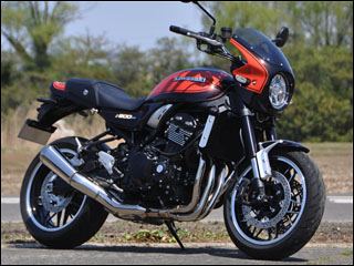 スーパーセール バイク用品 外装 カウルシックデザイン ロードコメット MTRSPブラック スモーク Z900RS 18-CHIC DESIGN RC99-MSBK/2 取寄品
