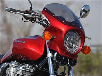 スーパーセール バイク用品 外装 カウルシックデザイン ロードコメット PサンビームWHT スモーク CB1100EX 17-CHIC DESIGN RC60C-PSW/2 取寄品