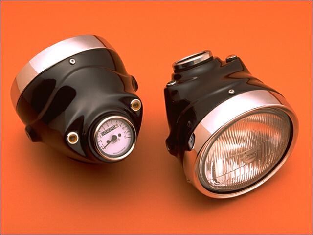 バイク用品 電装系 ヘッドライト&ヘッドライトバルブシックデザイン クラシックスモールライト SR400 500 -94CHIC DESIGN SR-CSL1 取寄品