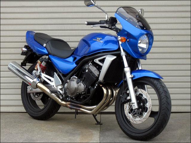スーパーセール バイク用品 外装 カウルシックデザイン ロードコメット2 CライトニングBLU クリア バリオス2CHIC DESIGN RCB07B-CLBL 取寄品