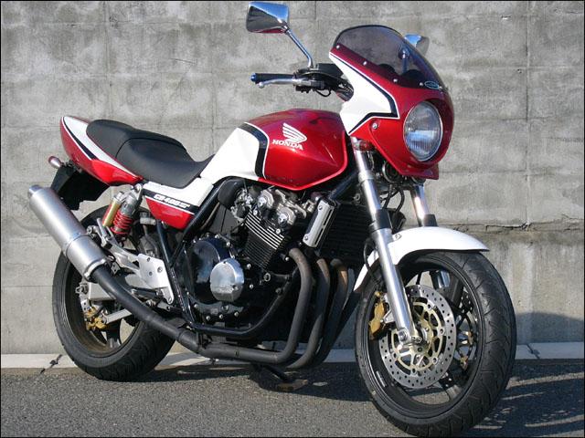 スーパーセール バイク用品 外装 カウルシックデザイン ロードコメット2 C・タヒチアン・BL クリア CB400SF 03CHIC DESIGN RCB37B-CTBL 取寄品