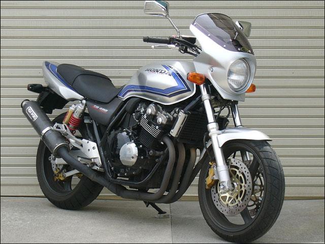 スーパーセール バイク用品 外装 カウルシックデザイン ロードコメット2 フォースシルバーM クリア CB400SF 99CHIC DESIGN RCB37-FOSV 取寄品