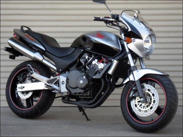 スーパーセール バイク用品 外装 カウルシックデザイン ロードコメット2 PFイエロー BLK クリア ホーネットCHIC DESIGN RCB22-YL/BK 取寄品