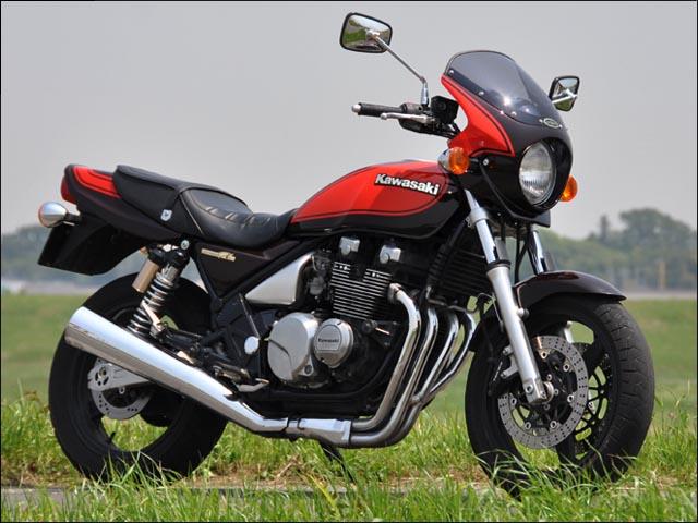 スーパーセール バイク用品 外装 カウルシックデザイン ロードコメット2 エボニ Cレッド スモーク ZEPHYR400CHIC DESIGN RCB06-EB/RD/2 取寄品