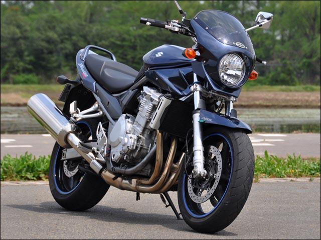 スーパーセール バイク用品 外装 カウルシックデザイン ロードコメット2GグラファイトBLM クリア BANDIT1250 ABSCHIC DESIGN RCB50B-GFBL 取寄品