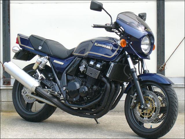 スーパーセール バイク用品 外装 カウルシックデザイン ロードコメット2 P.クリスタルWHT スモーク ZRX400-IICHIC DESIGN RCB19-PCWH/2 取寄品