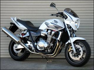 スーパーセール バイク用品 外装 カウルシックデザイン ロードコメット2 PサンビームWHT スモーク CB1300SF 03-CHIC DESIGN RCB44-PSW/2 取寄品