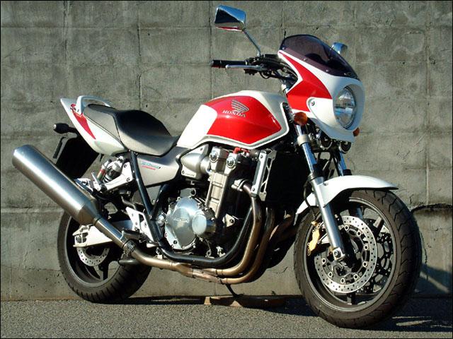 スーパーセール バイク用品 外装 カウルシックデザイン ロードコメット2 P.WH RD BL クリア CB1300SF 12CHIC DESIGN RCB44-WRB10 取寄品