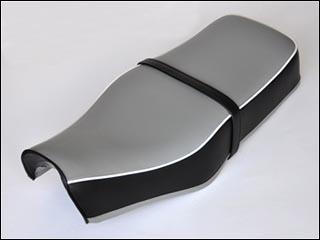 バイク用品 外装 シートシックデザイン クラシックダブルシート ブリティッシュ ST250 ベルト無しCHIC DESIGN ST-ST6A 取寄品