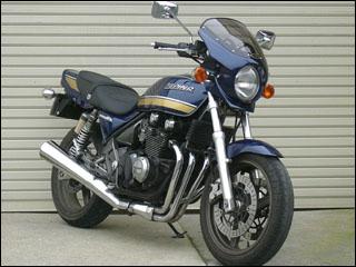スーパーセール バイク用品 外装 カウルシックデザイン ロードコメット2 エボニ C.BL スモーク ZEPHYR400χCHIC DESIGN RCB06-EB/BL/2 取寄品