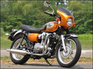 スーパーセール バイク用品 外装 カウルシックデザイン ロードコメットクラシック M.ダークグリーン クリア W800CHIC DESIGN RCC48-MDG 取寄品
