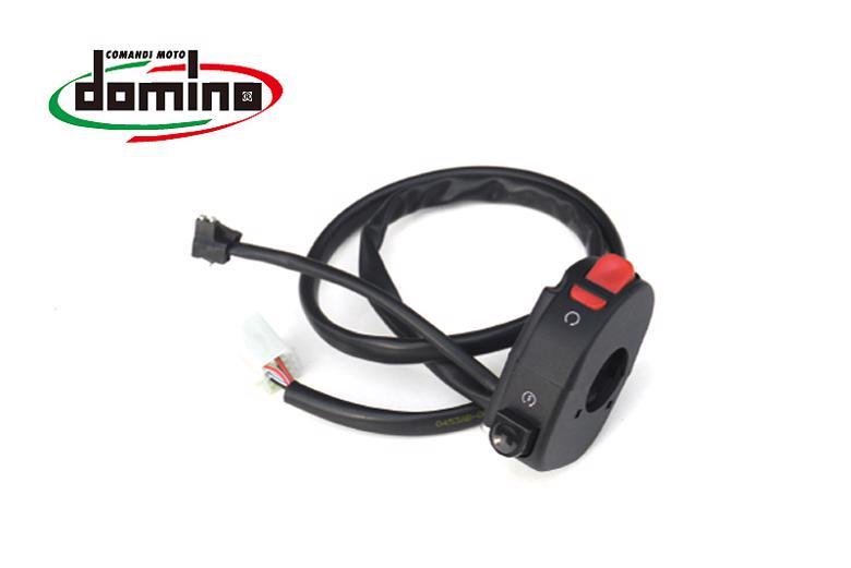 セール バイク用品 電装系 スイッチ&キードミノ ハンドルスイッチ YZF-R25domino 0453AB.5D.04-00 取寄品