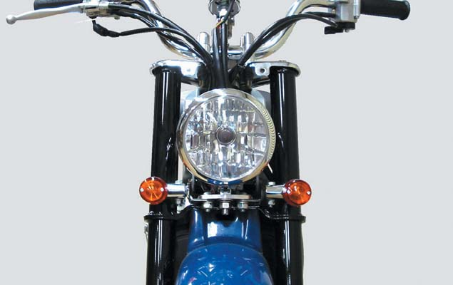 スーパーセール バイク用品 電装系 ヘッドライト&ヘッドライトバルブKITACO マルチヘッドランプASSY(4-1 2) バーディキタコ 800-2065700 取寄品