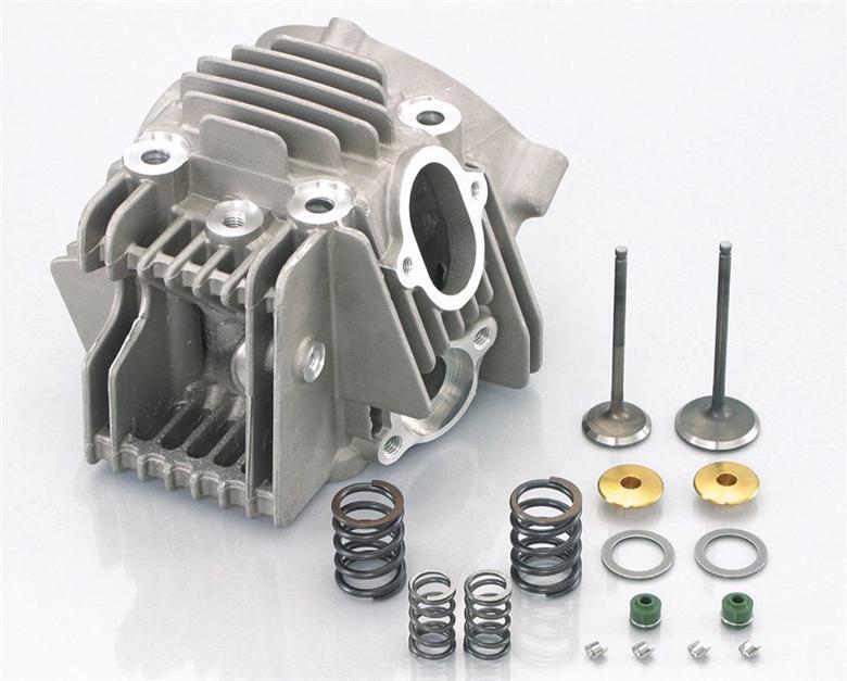 スーパーセール バイク用品 吸気系&エンジン ピストン&シリンダーKITACO シリンダーヘッドASSY(SE) KSR110キタコ 313-4021700 取寄品